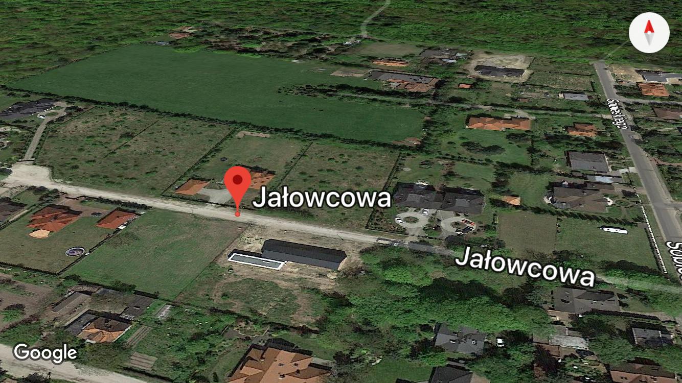 Ulica Jałowcowa, Puszczykowo k. Poznania - dokumentacja wykonawcza